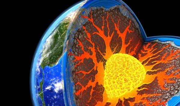 Risultati immagini per accelerazione nucleo della terra