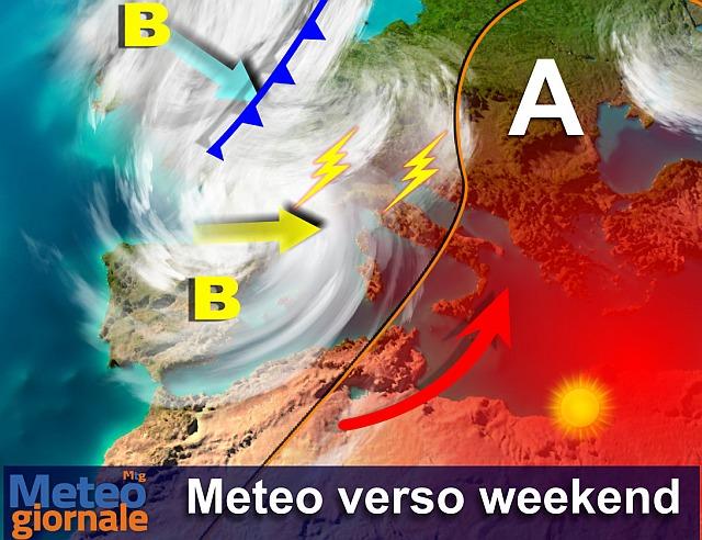 Meteo: lo STIVALE bolle al Sud, quasi un RECORD le punte di