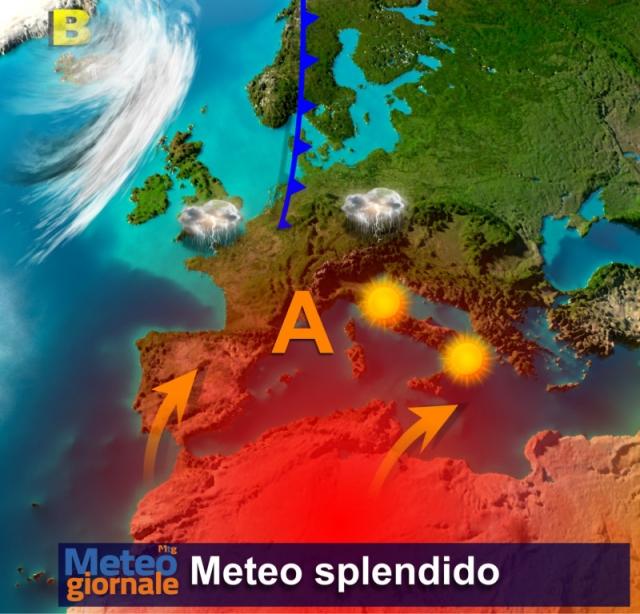 Da domani picco del caldo, temporali nel week-end