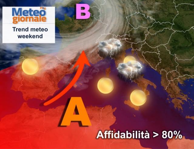 Meteo, dopo Ferragosto tornano i temporali al nord estate più incerta