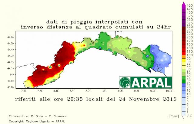 Maltempo, è allerta massima in Liguria e Piemonte