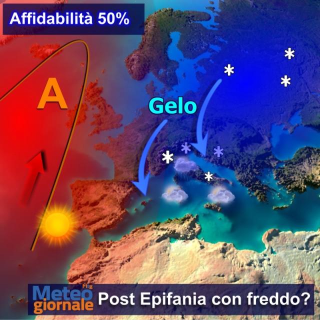 Meteo, temperature in calo: in arrivo gelate e neve