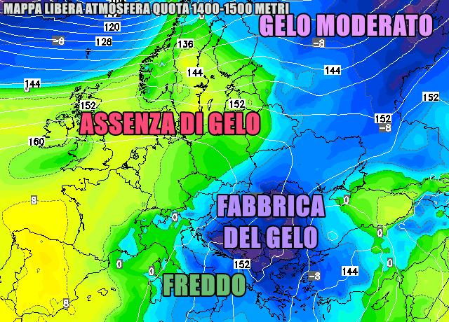 Allerta meteo, in arriva pioggia vento e neve sull'Abruzzo