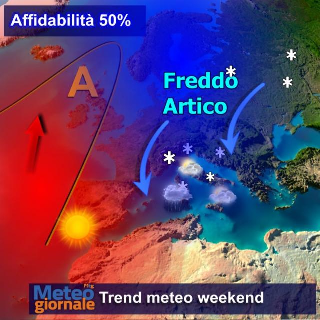 L'Italia batterà i denti fino a fine gennaio: altra neve in arrivo