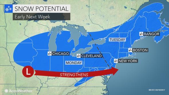 Bufera di neve in Usa, cancellati 4mila voli: bloccata anche la Raggi