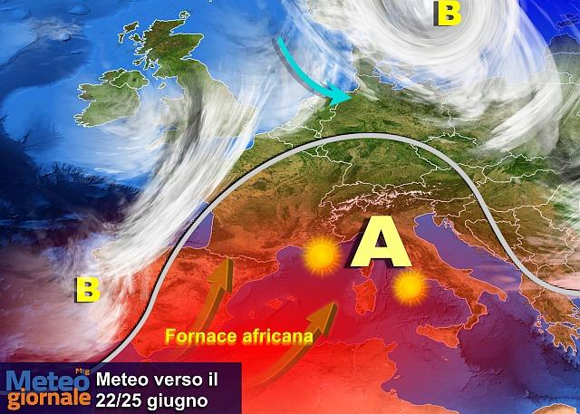 Torna il caldo africano: giugno bollente