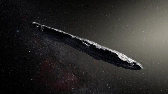 Avvistato il primo asteroide interstellare, non era mai accaduto prima