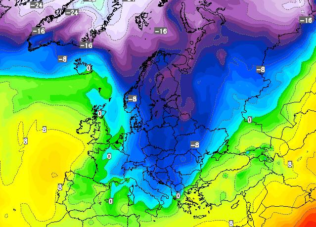 Dinamica evoluzione meteo prossimi 15 giorni con exploit freddo e maltempo - Meteo bagno di romagna 15 giorni ...
