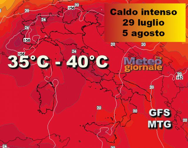 Nerone accende l'estate: in arrivo caldo rovente e la tanto odiata afa
