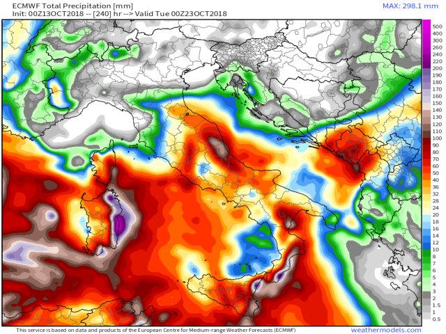 Previsioni meteo 12 ottobre: piogge residue al Sud