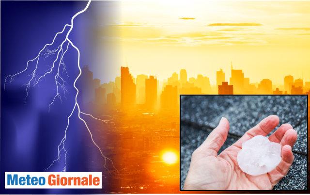 Meteo: Italia nella morsa del caldo, ma da giovedì temporali