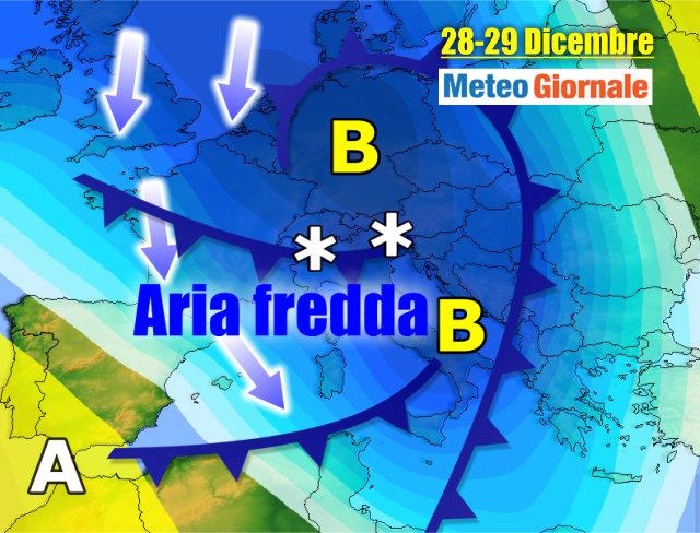 Neve e freddo per tutta la settimana, le previsioni di MeteoinMolise