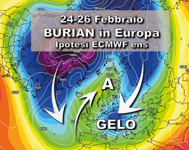 Meteo Lombardia, arriva Buran: neve nel weekend, poi il grande gelo