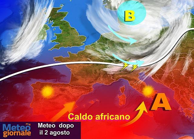 Meteo estremizzato: grave ondata di caldo alle porte d'Italia