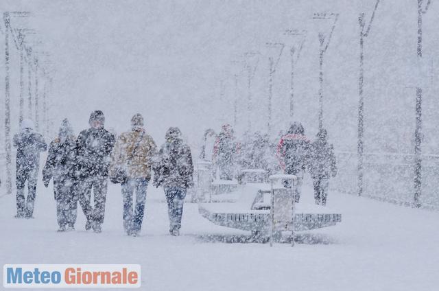 Allerta meteo neve Emilia Romagna 16 dicembre 2018