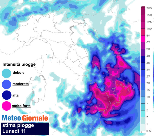 Meteo Italia nel weekend: da oggi piogge e grandinate. Domenica temporali
