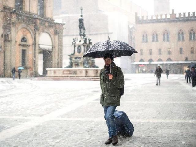 Gelo, freddo e neve, maltempo in Umbria nelle prossime ore