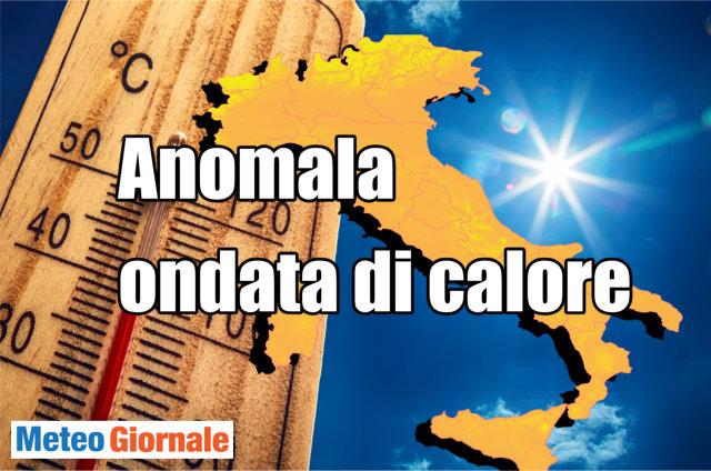 Previsioni meteo in Italia dal 30 luglio al 5 agosto