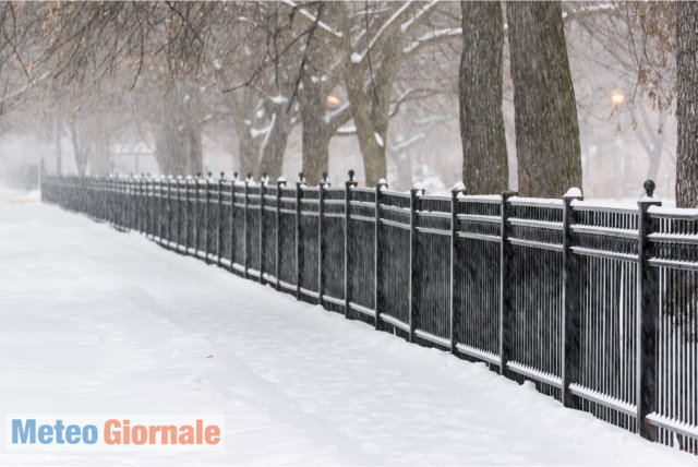 Nel weekend arriva l'inverno: freddo e neve a quote basse, da lunedì