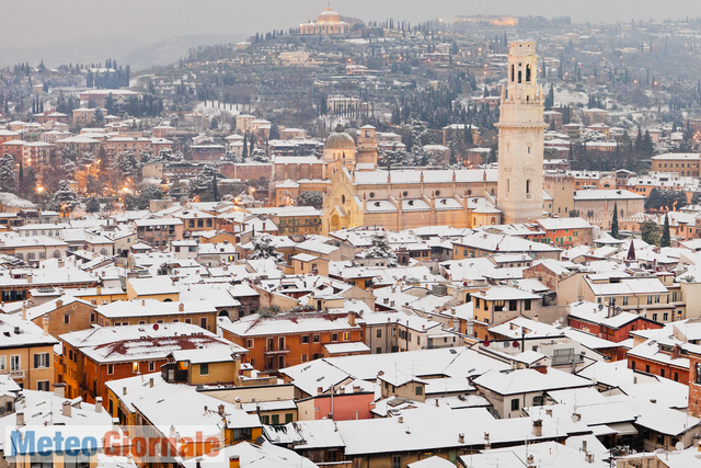 La Protezione Civile dirama l'allerta neve: fiocchi attesi anche in pianura