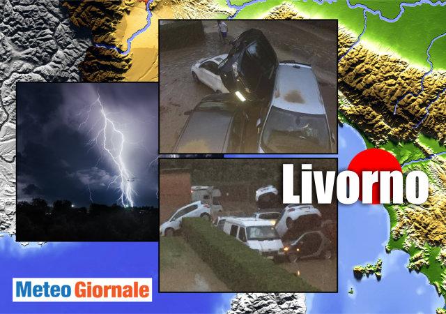 Maltempo a Livorno, riprese le ricerche dei due dispersi | Meteo