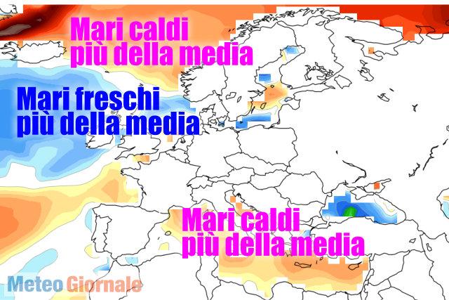 Maltempo, allerta della Protezione Civile: temporali e temperature in picchiata