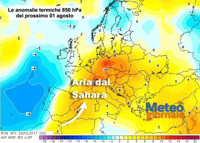 Meteo, arriva un po' di pioggia: temporali sul Nord Italia