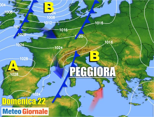 METEO 14-20 Ottobre, ingente anomalia climatica. Alta Pressione, la durata