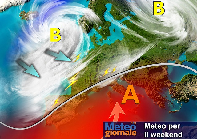 Previsioni meteo, weekend di caldo africano (con blitz temporalesco)