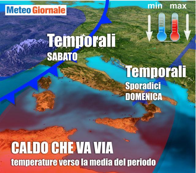 Meteo Ravenna, temporali e vento 'guastano' il weekend