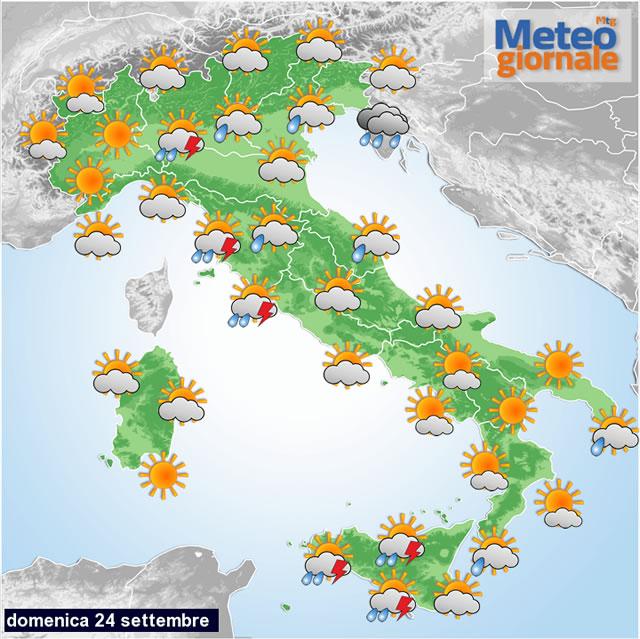 Meteo: temporali in arrivo da stanotte, anche in Toscana allerta gialla