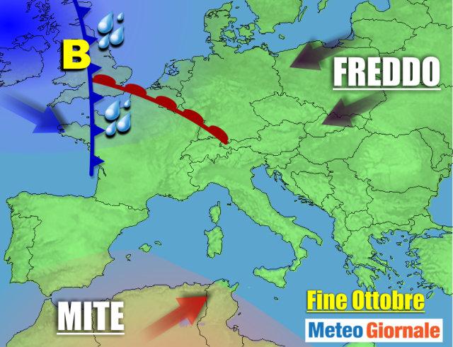 METEO 21-27 Ottobre: rischio siccità persistente. Piogge, quando?