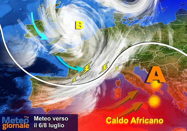 Caldo africano nel fine settimana, allerta afa in 10 città