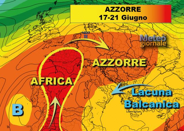 Maltempo in arrivo: allerta meteo gialla in Toscana per temporali