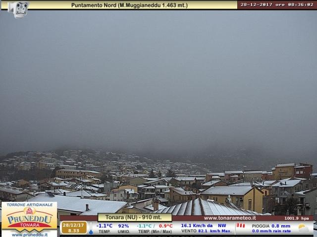 Fine d'anno con pioggia, vento e neve su tutta Italia