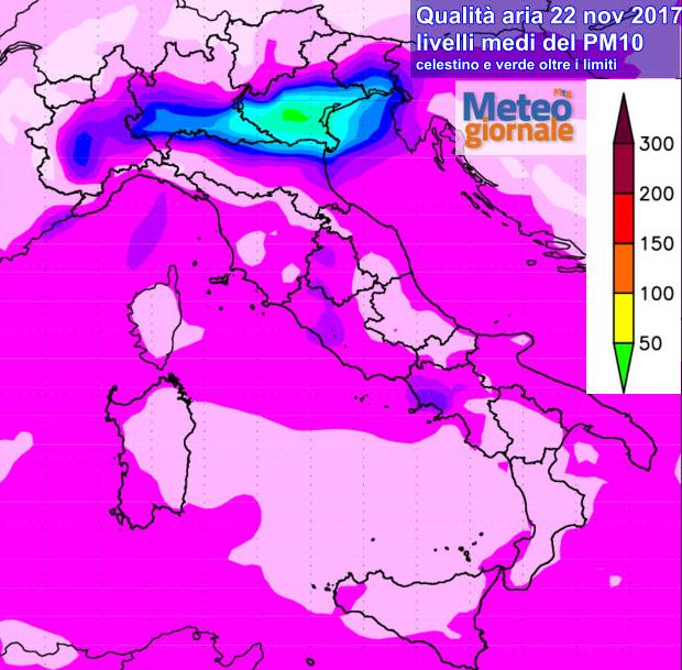 Meteo: sereno ma con temperature in calo