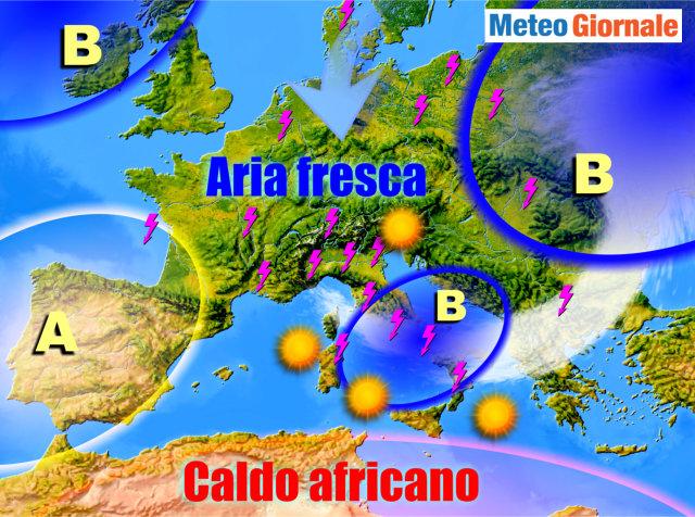 Meteo, settimana stabile e soleggiata: temperature in aumento