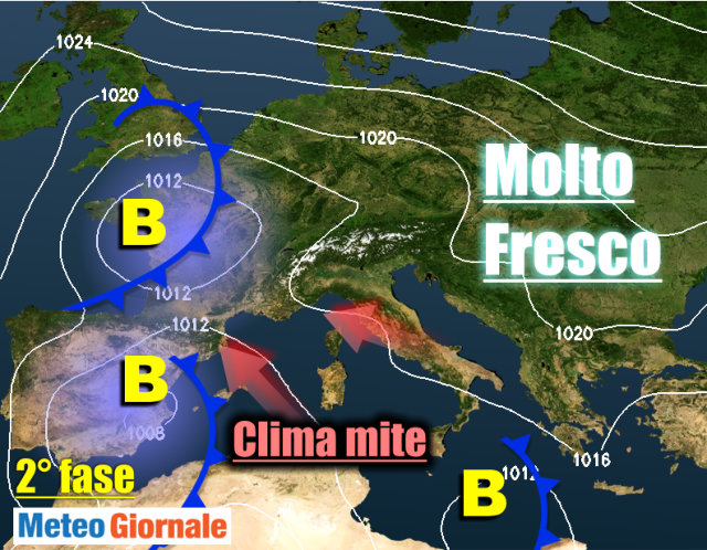 Previsioni meteo, folle weekend: nubifragi al Nord, 30° al Sud