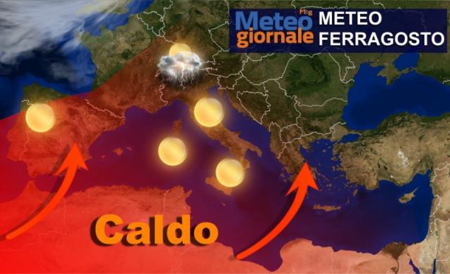 Il meteo in Piemonte: a Ferragosto il volto migliore dell'estate