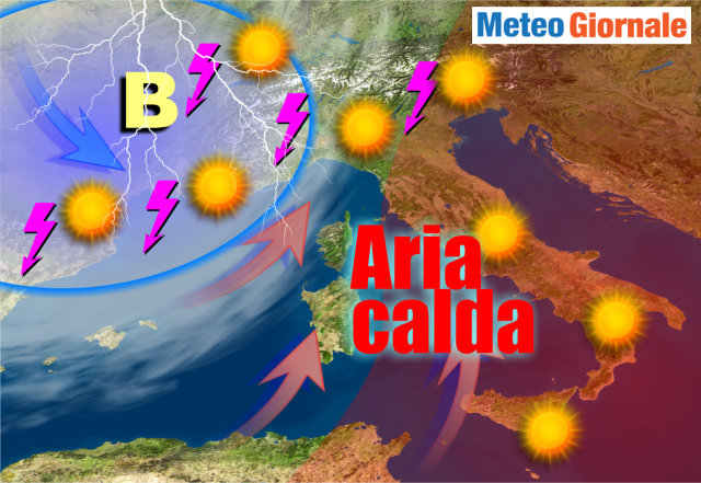 Meteo: caldo africano nel weekend, poi cambia