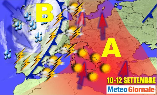 Allerta meteo: in arrivo piogge e temporali anche forti
