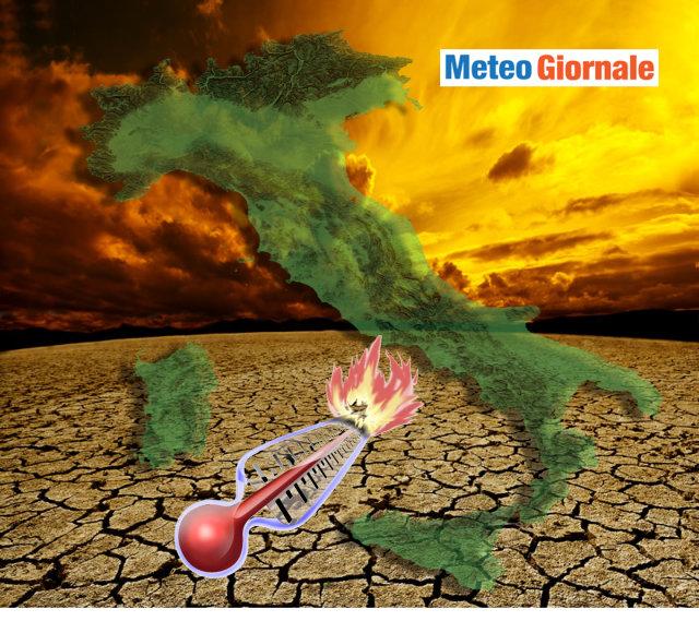 Meteo Sicilia: CALDO intenso, attese temperature fino a 42°C