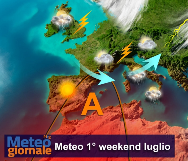 Meteo Italia. Venerdì instabile al Centronord e Sardegna, sole e caldo estremo al Sud e in Sicilia