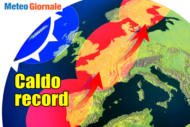 Meteo Italia. Sole e caldo afoso sull'Italia